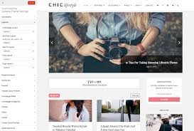 page sidebar u0026 columns layouts chic wordpress theme