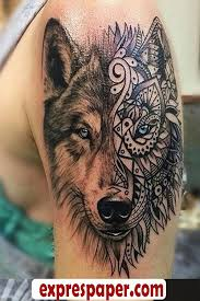 wolf arm tattoos makes the now express yourself