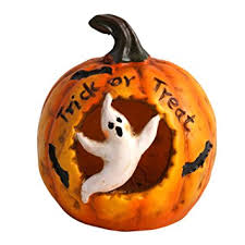 Lighted Ceramic Halloween Decorations by Amazon Com Lighted Color Changing Pumpkin Halloween Decoration