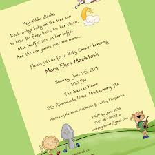 Invitation Card For Baby Template Baby Shower Invitation Young People