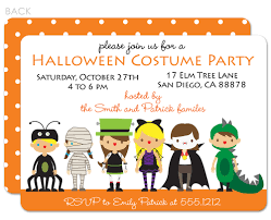 Halloween Birthday Invitations by Halloween Costume Birthday Party Invitations Oxsvitation Com