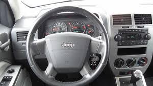 2007 jeep patriot sport 4wd silver stock l342370 interior