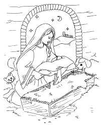 coloring page of jesus the gift of love coloring page