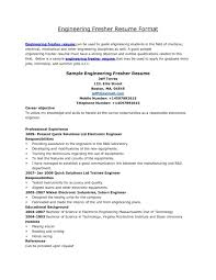 resume format for freshers civil engineers pdf resume format for freshers free download doc bsc computer science