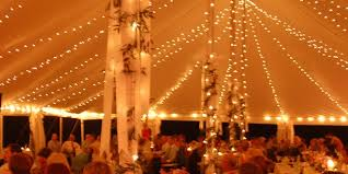 wedding tent lighting 6 lighting options to make your wedding tent sparkle lakes