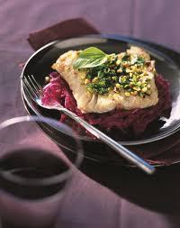 cuisiner du chou recette cabillaud au confit de chou