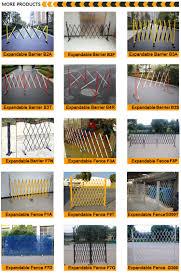 warehouse application metal expandable retractable trellis