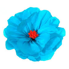 turquoise flowers mexican paper flowers mexican party supplies at amols