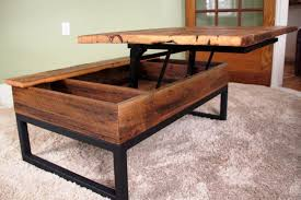 Coffee Table With Storage Invincible Living Room With Dark Brown Wooden Lift Top Coffee