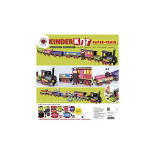 kinder bastelsets kids craft kits christmas train craft kit