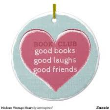 book club book it s all watercolor ornament retro