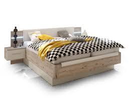 Schlafzimmer Bett Sandeiche Update Bett Doppelbett Dekor Sandeiche Weiss Mit Led Beleuchtung