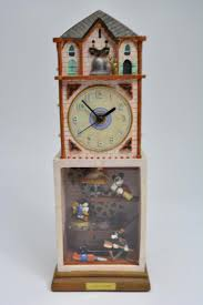 Battery Operated Desk Clock Clock Cleaners With Mickey Mouse U0026 Friends Battery Operated