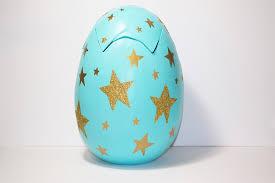 large paper mache egg mache egg gift box idea hobbycraft