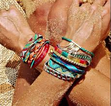 multi colored gold bracelet images Jewels jewelry bracelets boho boho hipanema bracelets jpg