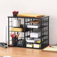 Rubbermaid Desk Organizers Rubbermaid 12 Slot Black Organizer Free Shipping Today