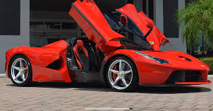 ferrari laferrari crash is the classic car market decelerating