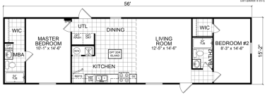 2 Bedroom Single Wide Floor Plans Single Wide Mobile Homes Factory Expo Home Centers