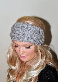headband wrap ear warmer crochet headband knit wrap braided earwarmer