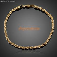 bracelet ladies designs images 2018 wholesale hot simple design ladies gold plated twisted chunky jpg