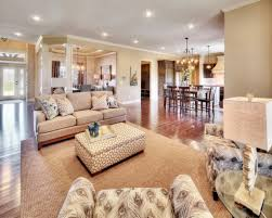 an open floor plan makes for a spacious living space in this st