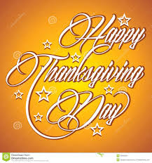 photo of happy thanksgiving creative calligraphy of text happy thanksgiving da stock images