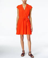 maison jules cap sleeve wrap dress created for macy u0027s dresses