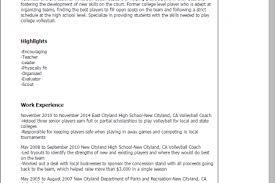 Coaching Resume Sample by Basketball Referee Resume Sample Reentrycorps