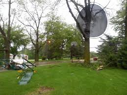 trampoline blows into tree from high winds kwwl eastern iowa