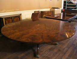 Round Dining Room Table With Leaf Large 64 88 Inch Expandable Round Mahogany Dining Table