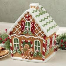 christmas gingerbread house j thaddeus ozark s cookie jars and other larks gingerbread house