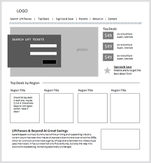 web design process sketch to wireframe to web design concept
