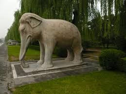 file elephant statue emperor s statue garden beijing jpg