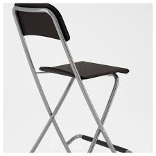 Flat Folding Chair Franklin Bar Stool With Backrest Foldable 24 3 4