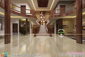 kerala home design staircase stunning wooden bifurcated stair design kerala home design