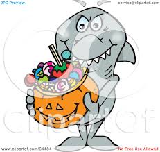 halloween basket royalty free rf clipart illustration of a trick or treating