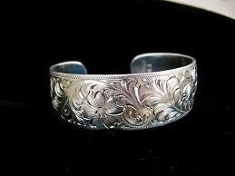 custom silver bracelets ken dixon western silver bracelets