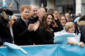 prince william kate middleton and prince harry inspire