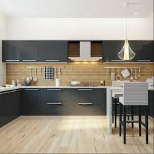 Soul Kitchen Pune Sprawling Modular Kitchen With A Breakfast Counter Perfect For