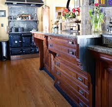how to make a kitchen island using cabinets repurposed reclaimed nontraditional kitchen island
