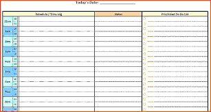 printable daily schedule printable daily planner template home a personal template a