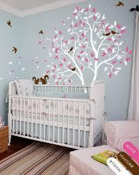 stickers arbre chambre fille stickers arbre pour chambre bébé fille chambre idées de