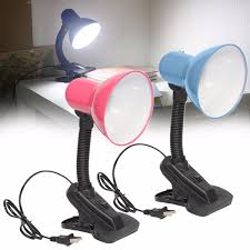 flexible reading lamp home office study table bedside light