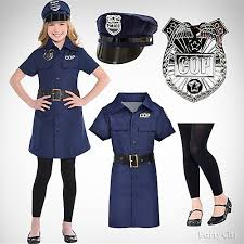 Zombie Halloween Costumes Party Girls U0027 Police Officer Costume Idea Girls U0027 Halloween Costume