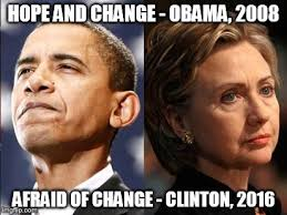 obama v clinton imgflip