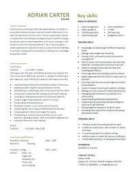 sample cv for teacher job how to write a resume for a teaching job u2013 jalcine me