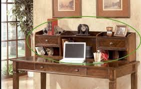 ashley h527 48 hamlyn home office short desk hutch medium brown ebay