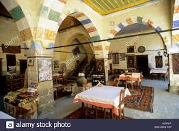turkey cappadocia mustafapasa old greek house hotel stock photo