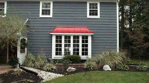 red metal roof love the color scheme red metal roofing from