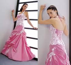 pink wedding dress dressed up